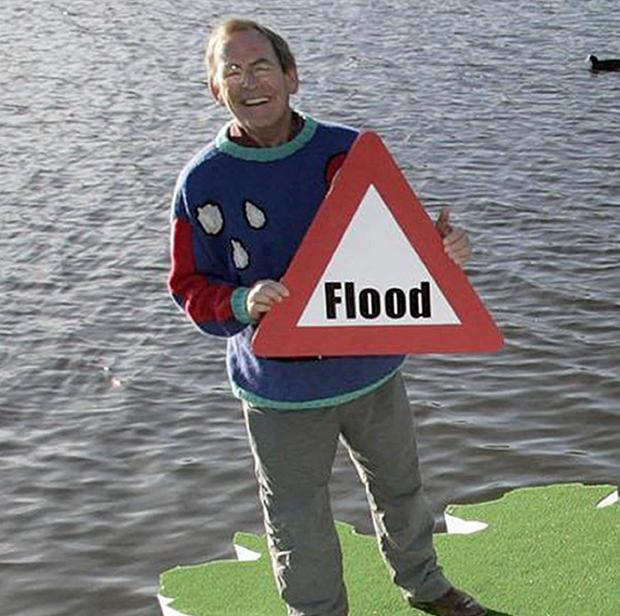 Television weatheman Fred Talbot has been arrested