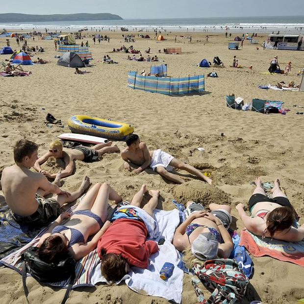 There is much better weather on the way for the whole country, with temperatures after Sunday expected to leap up to 20C