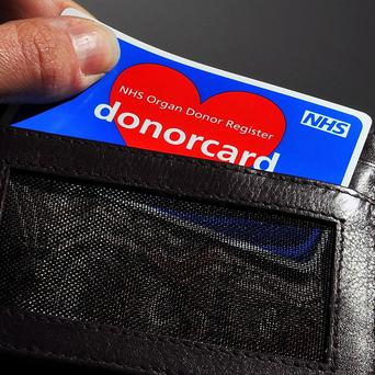 More than 1,200 people in the UK donated organs in the past year