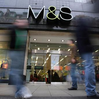 Marks and Spencer announced its strongest growth in two years