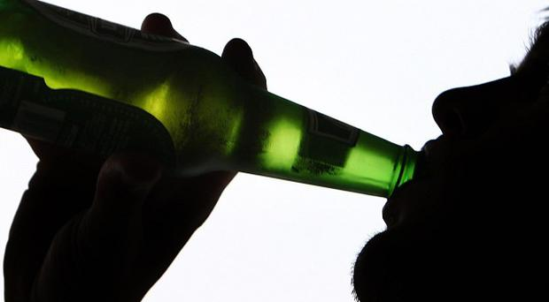 Around 12 per cent of anti-social behaviour is thought to be drink-related