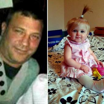James Dean disappeared with his 11-month-old Brooke from the Yate area of South Gloucestershire