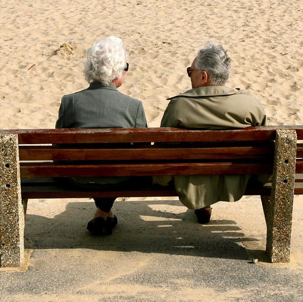 A third of men and women said they went through a period of 'developmental crisis' in their 60s