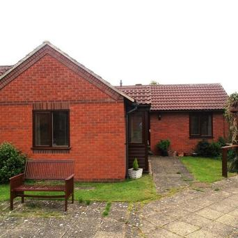 A one-bedroom bungalow in Eaton, Leicestershire, which has been on the market since last July
