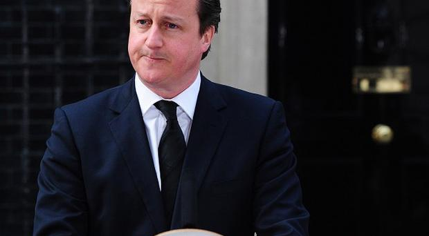 David Cameron's appearance on the campaign trail marks a resumption of hostilities after the death of Baroness Thatcher was marked by a lull