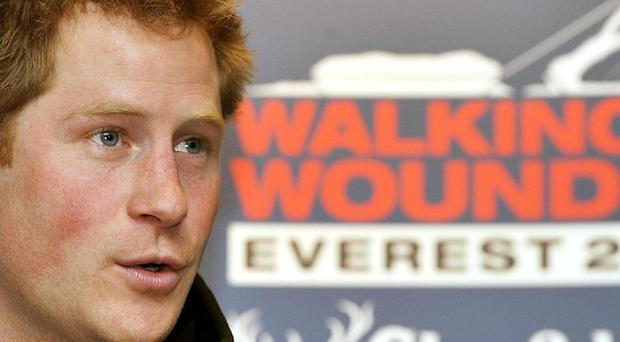 Prince Harry is to take part in the Walking With The Wounded South Pole Allied Challenge in November and December this year
