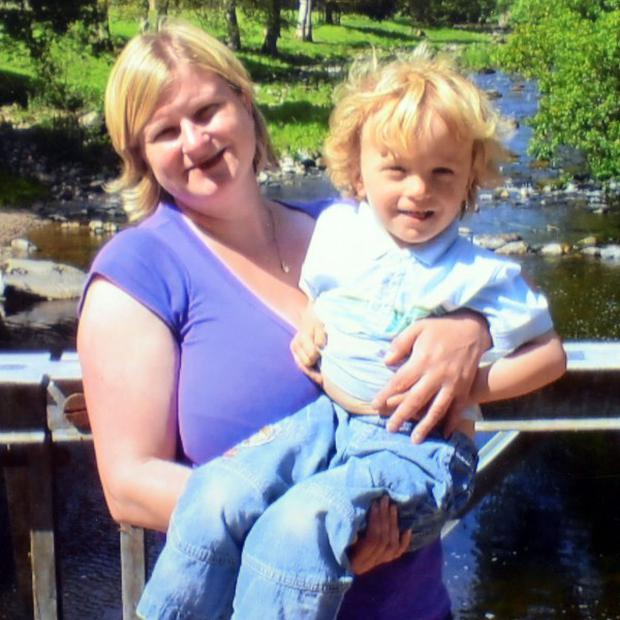 Lisa Clay, 41, and her six-year-old son Joseph Chadwick were found dead in Bolton-le-Sands (Lancashire Police/PA)