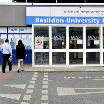 Basildon Hospital in Essex is being investigated in the wake of the Stafford Hospital scandal