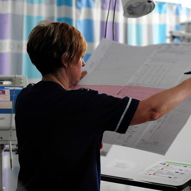 The Royal College of Nursing warned nurses are spending too much time on admin