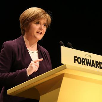 Nicola Sturgeon claims an independent Scotland maintaining the pound would be 'common sense'
