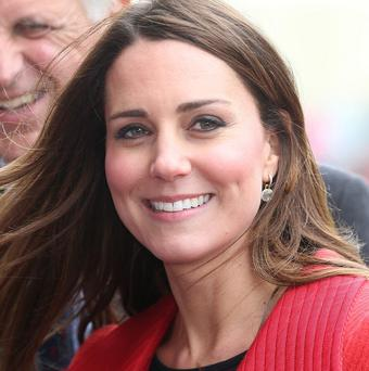 The Duchess of Cambridge has attended the National Review of Queen's Scouts at Windsor Castle