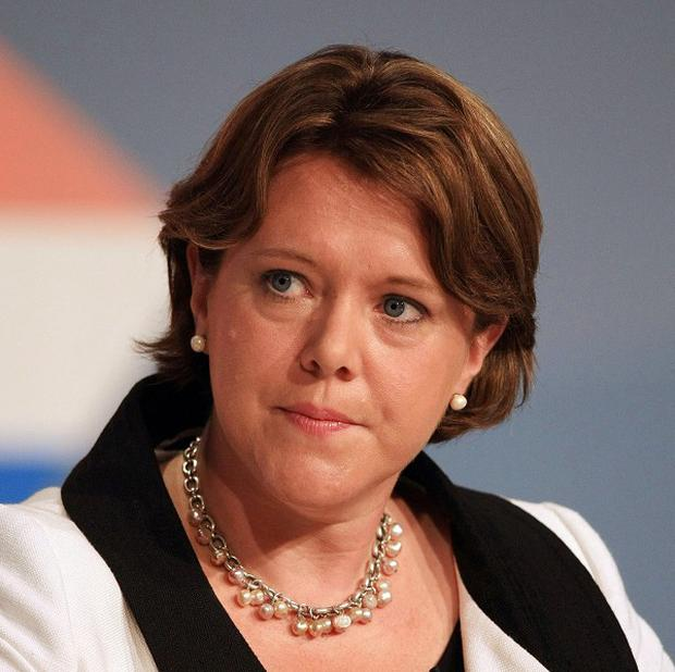 Culture Secretary Maria Miller said a ban on paid-for political advertising was not about the particular views involved