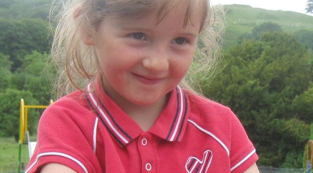 April Jones was last seen on October 1 last year while out playing near her home in the Bryn-y-Gog estate in Machynlleth (Dyfed Powys Police/PA)