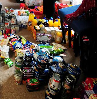 More and more people are using food banks
