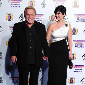 Freddie Starr, left, has been rearrested over fresh allegations of sexual offences