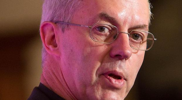 The Archbishop of Canterbury says Britain has had 'quite a long time' below the economic activity levels of 2007