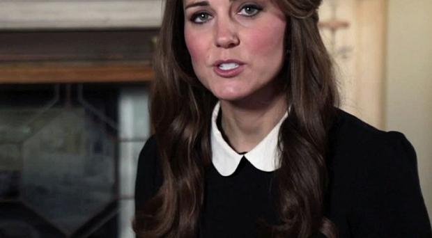The Duchess of Cambridge expressed her support for Children's Hospice Week