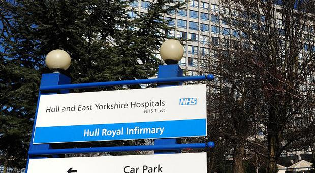 An elderly man, also injured in the incident, was taken to Hull Royal Infirmary