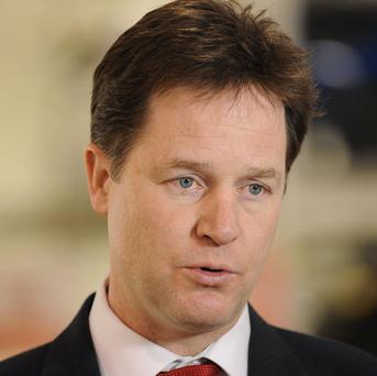 Nick Clegg has issued a broadside at the Tories and Labour ahead of Thursday's poll