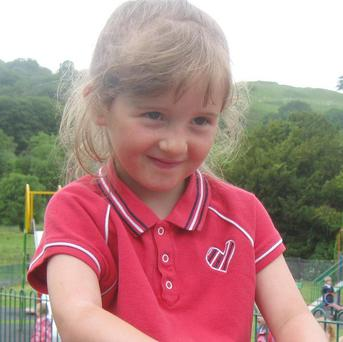 April Jones went missing near her home in Machynlleth on October 1 last year (Dyfed-Powys Police/PA)