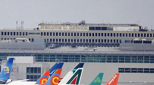 A bomb disposal team has been sent to Gatwick Airport after suspicions were raised about a van