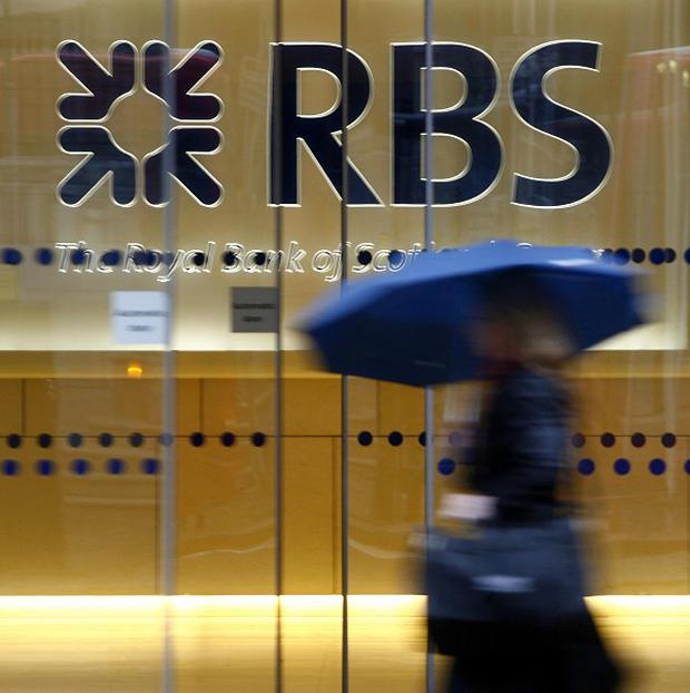 RBS has reported first quarter pre-tax profits of 826 million pounds