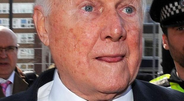 Stuart Hall said he gave his wife Hazel full ownership of their Cheshire home because he has a heart defect