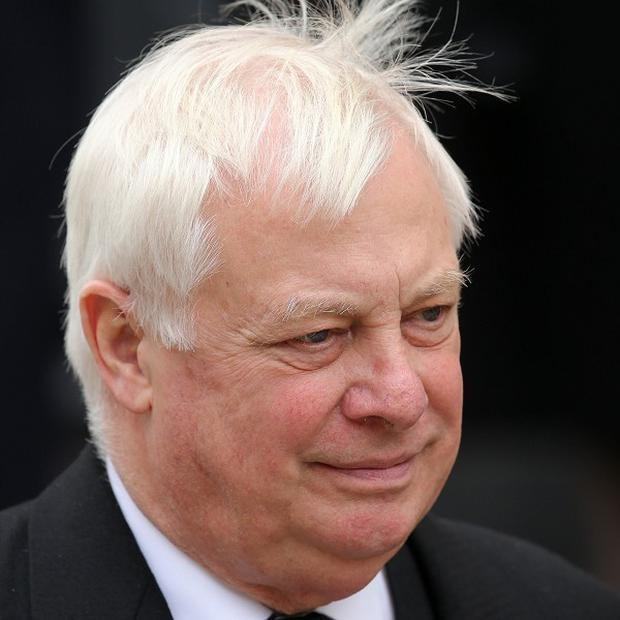 Lord Patten shrugged off criticism from ex-BBC director general Greg Dyke, who described the chairman of the BBC Trust as a 'lame duck'