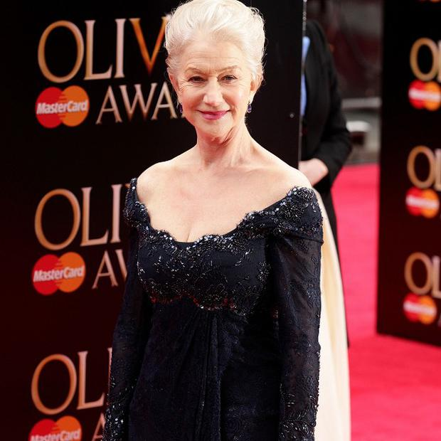 Dame Helen Mirren recently won an Olivier Award for her performance in The Audience