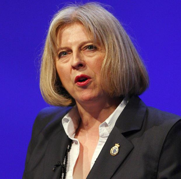 Home Secretary Theresa May faced heckling and calls to resign at last year's Police Federation conference