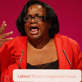Diane Abbott will say that men are unable even to discuss the problems that they face