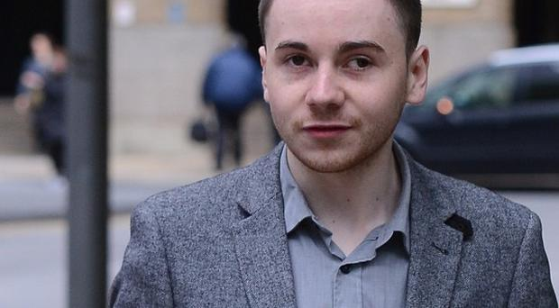 Topiary, real name Jake Davis, a former 'hacktivist' from the Shetland Islands