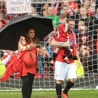 Coleen and Wayne Rooney are celebrating the birth of their second son