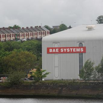 BAE Systems has been fined nearly 350,000 pounds over the death of a worker
