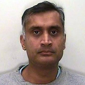 Dr Davinder Jeet Bains used his position as a GP to assault more than two dozen women (Wiltshire Police/PA)