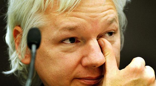 Julian Assange has been holed up in the Ecuadorian embassy in London since June 19 last year