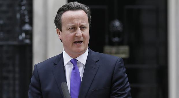 David Cameron is reported to be 'stunned' at reports of an affair between two senior political figures