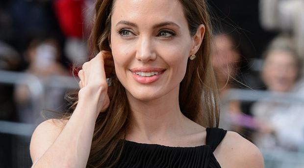 Angelina Jolie arriving for the world premiere of World War Z