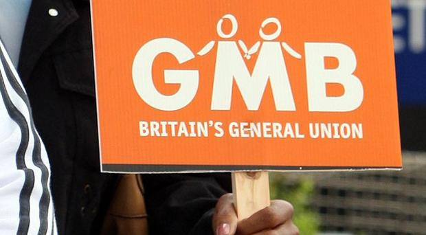 The GMB union said many workers had their reputation and job prospects 'destroyed' after they were put on a blacklist