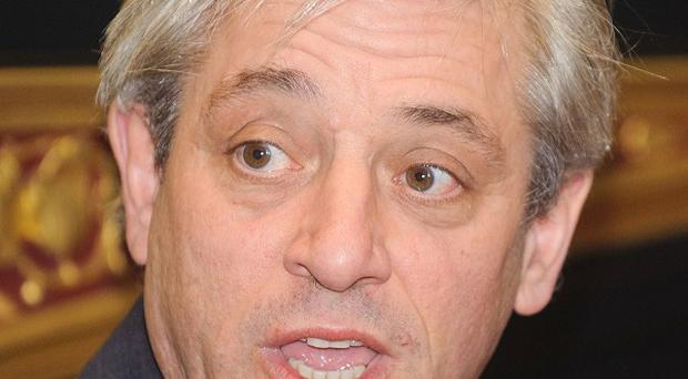 John Bercow has reported to have ordered the suspension of more than 80 House of Commons passes