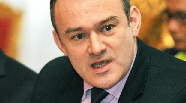 Liberal Democrat Energy Secretary Ed Davey insisted that the Government remained committed to 'appropriately sited onshore wind farms'