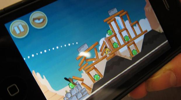Angry Birds is one of the most popular games among a middle-aged generation of smartphone gamers, a study found