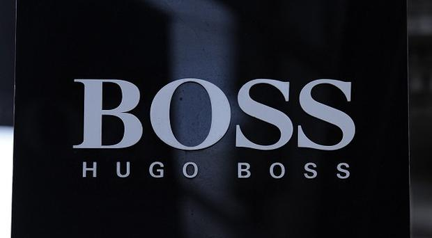 The boy was in the Hugo Boss store at the Bicester Outlet shopping village when the incident occurred