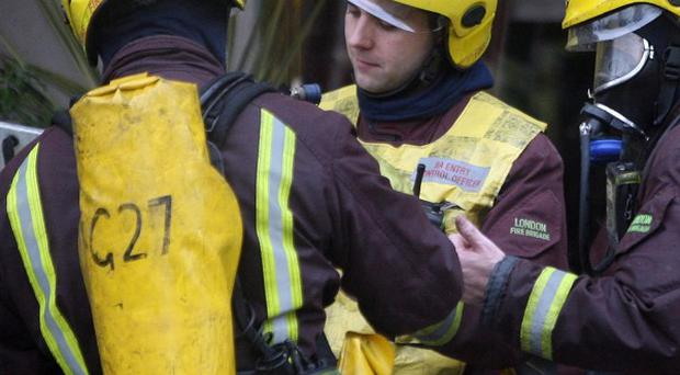 Only minor fire damage was caused to the school but two boys suffered from smoke inhalation