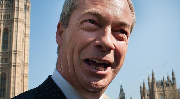 A new poll suggests support for Nigel Farage's Ukip has fallen