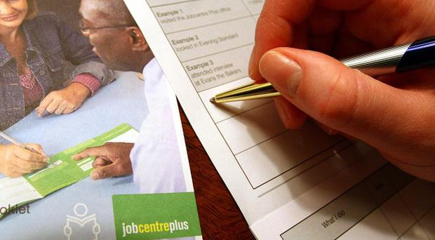 Official figures revealed unemployment is down by 5,000