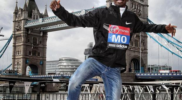 Mo Farah has been named the celebrity dad of the year
