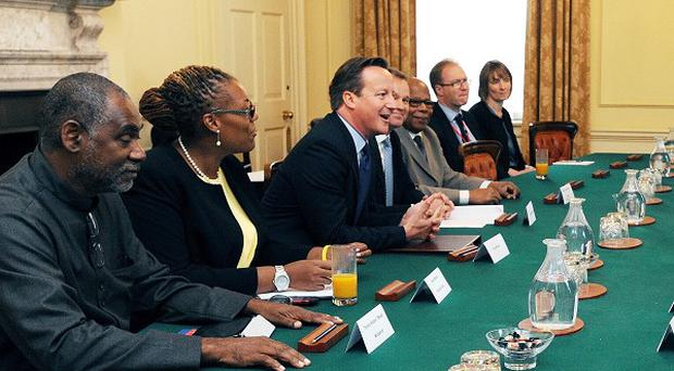 Prime Minister David Cameron hosts a meeting with the Heads of the Overseas Territories and the Chief Ministers of the Crown Dependencies