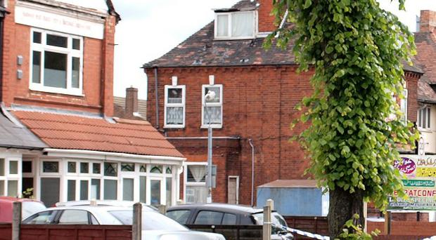 The Washwood Heath Muslim Centre in Birmingham where three men and a police officer were stabbed