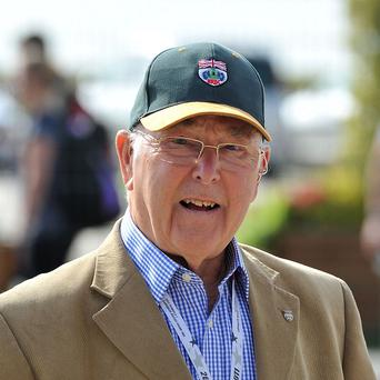 Murray Walker was diagnosed with a form of lymphatic system cancer